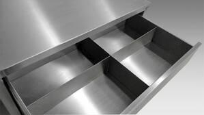 Schubladenschrank: Inneneinteilung Schublade