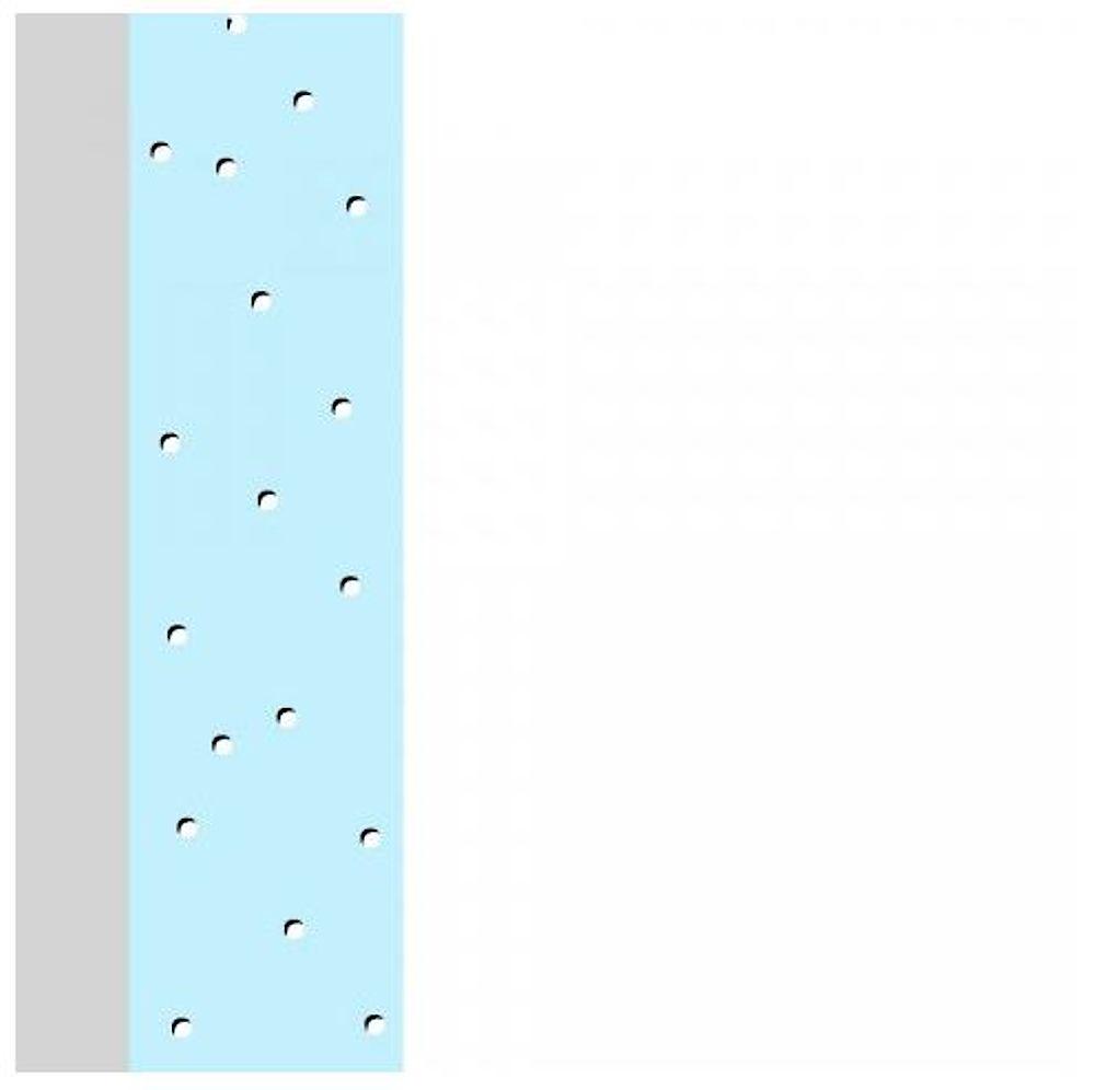ACROLEN-MED Wandschutz-Antibakterielle Ausstattung homogen im Material verteilt