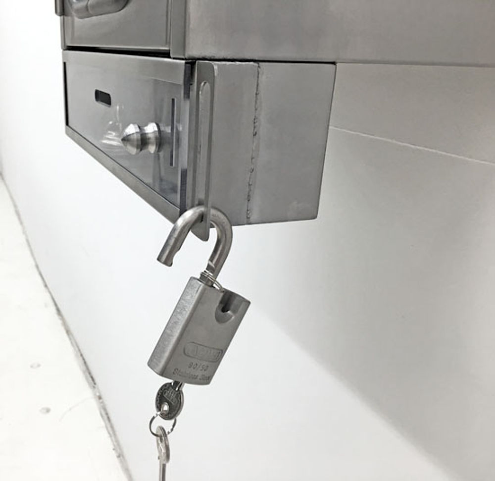 Lockout/ Tagout Edelstahl-Schrank