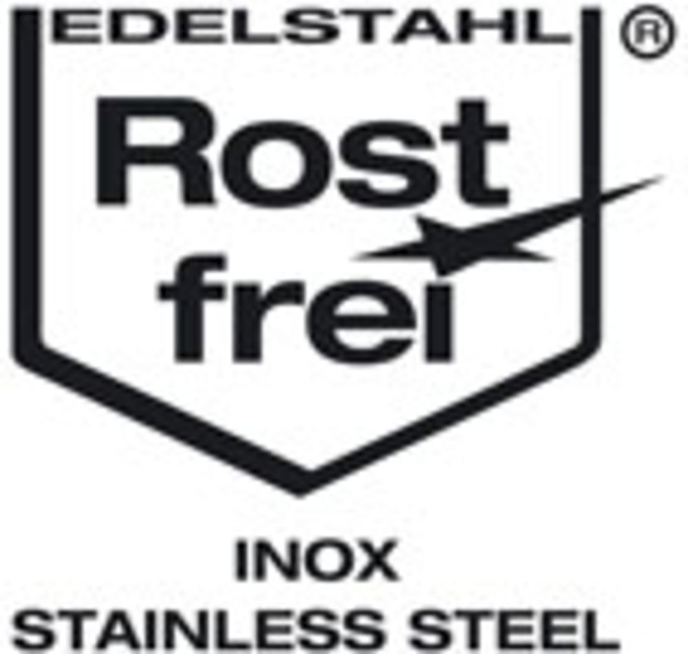Rustproof stainless steel