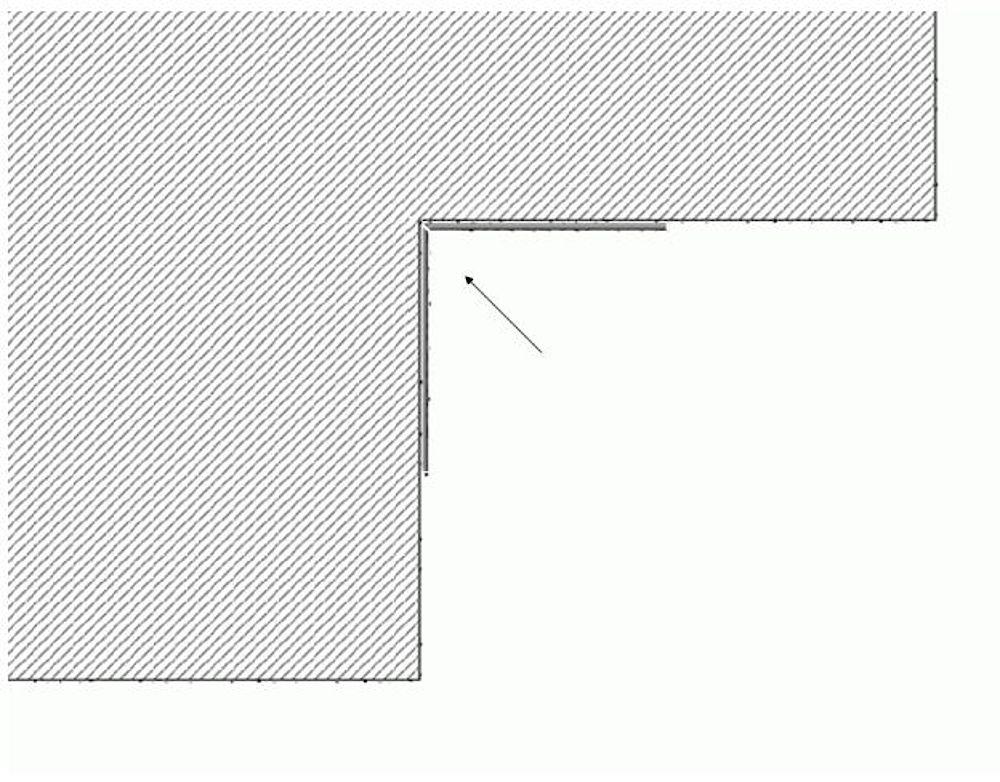 ACROLEN (Acryl-Vinyl) Wandschutz - Innenecke