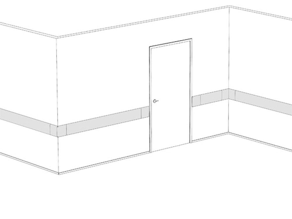 Montagebeispiel: HDPE-Rammschutzprofile