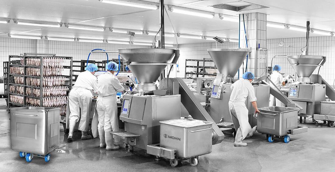 Prozesstechnik in der Lebensmittelindustrie (Fleischverarbeitung)