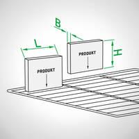 Abmessungen-Produktverpackung (Wurstpaket)