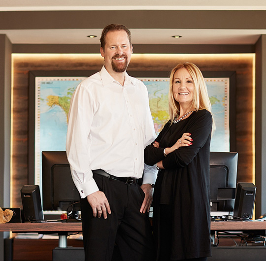 David und Anita Mohn, Inhaber Mohn GmbH - Hygienetechnik in Perfektion
