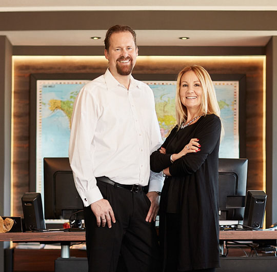 David und Anita Mohn - Inhaber Mohn GmbH, Hygienetechnik in Perfektion