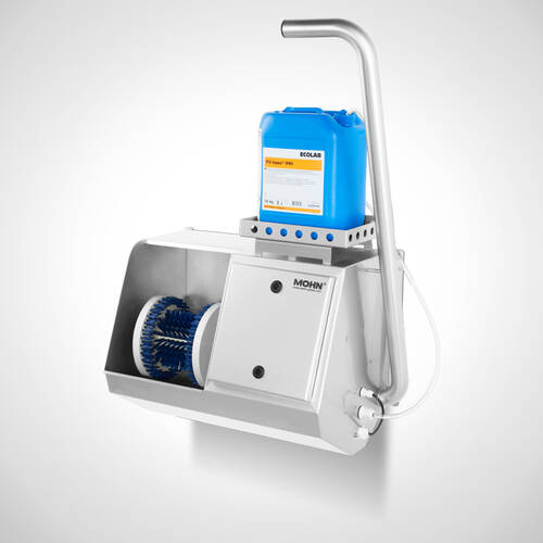"""<h6 class=""""mb-0"""">Sole cleaning machine </h6><span>Type  Sole-Master """"Highline""""</span>"""