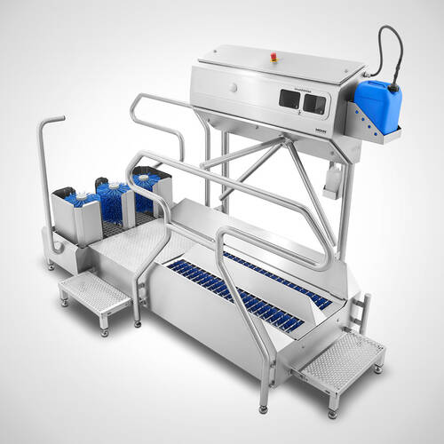 Hygieneschleuse Typ Combiclean-Control Highline 2300-Rechts