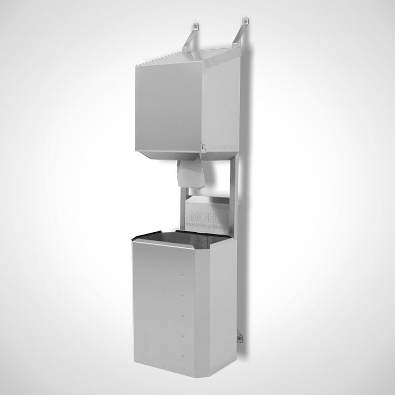 Typ DR-I mit opt. Rollenbox + Papierkorb (PK-E 40 Ltr.)