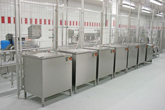 Messerkorbdruckreinigungsmaschinen