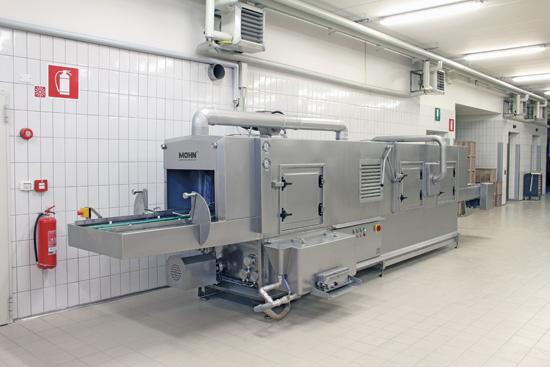 Durchlauf-Waschanlage Typ DLWA 250-Back Highline